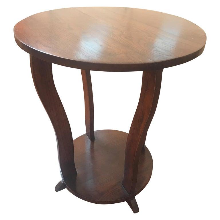 1930s Art Deco Round Table