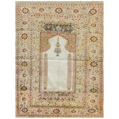 Silk Kayseri Prayer Rug