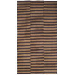 Banded Cover Rug