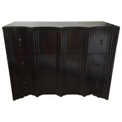 Art Deco Style Mahogany Three-Drawer Dressers