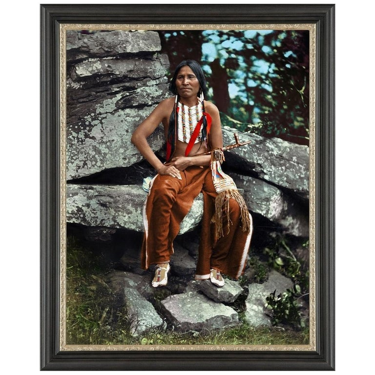 Little Bear, after Native American Vintage Photography by John K. Hillers