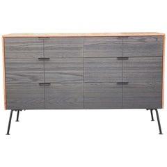 Modern Two-Tone Raymond Loewy for Mengel Furniture Company Six-Drawer Dresser