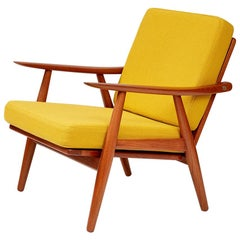 Hans Wegner GE-270 Lounge Chair, Teak