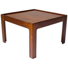 Vintage Danish Teak Side Table Denmark, 1960s