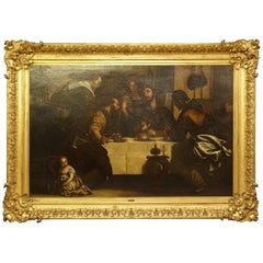 """After Paolo Caliari Veronese """"The Supper At Emmaus"""" Painting"""