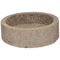 Low Round Chinese Millstone