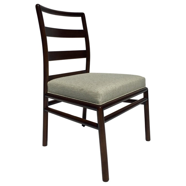 T.H. Robsjohn-Gibbings Set of 4 Ladder Back Dining Chairs