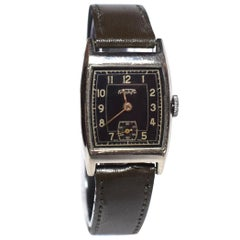 Art Deco Men's Wrist Watch By Triunfo