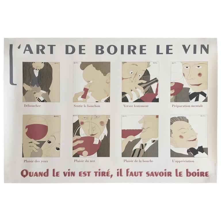 Vintage Poster L'art De Boire Le Vin D'apres Martin, Circa 1980 ... Art <b>Art.</b> Vintage Poster L'Art de Boire le Vin d'apres Martin, circa 1980 ....</p>