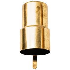 Hans-Agne Jakobsson Wall Lamps Model V-324 in Brass