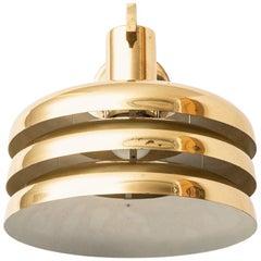 Hans-Agne Jakobsson Wall Lamp Model V-361 in Brass