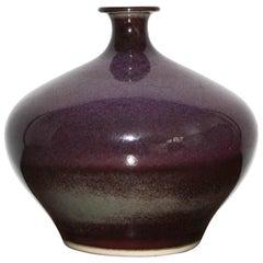 Swedish Ceramic Vase by Sven Hofverberg