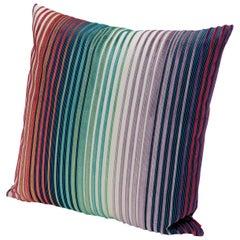 Missoni Home Tunisi Cushion in Multi-Color Striped Print