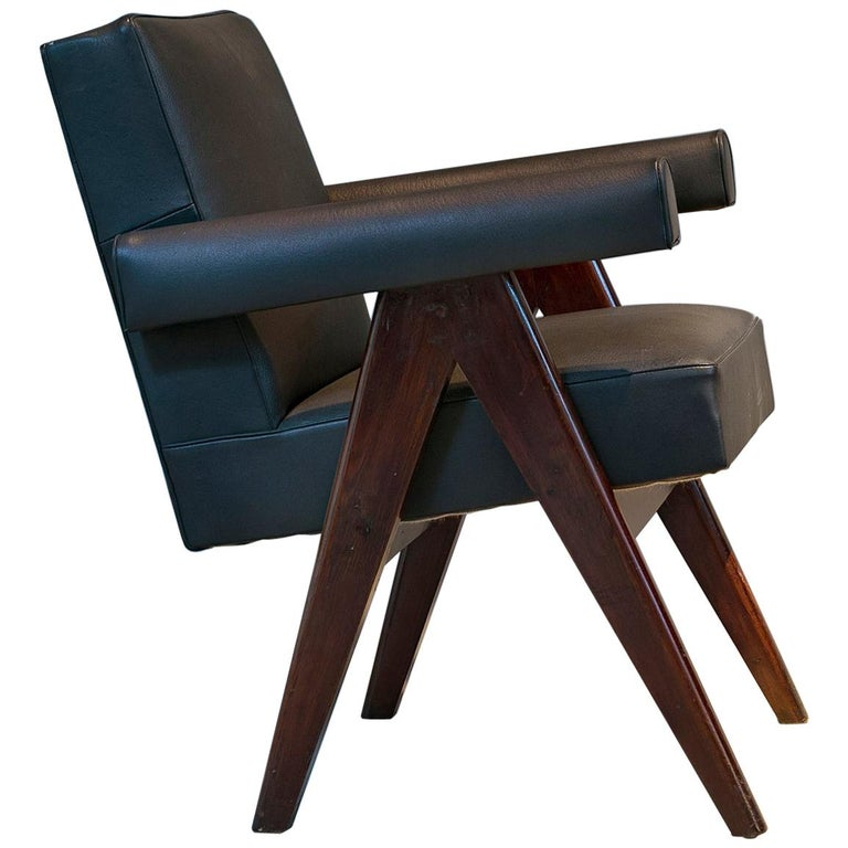 Pierre Jeanneret, Committee Armchair Pj-si-30-d, circa 1953