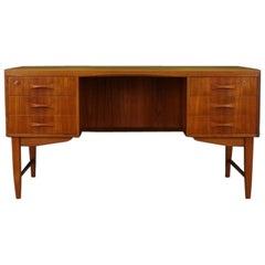 Teak Writing Desk Retro Vintage 1960-1970 Danish Design
