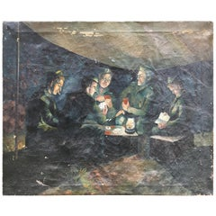 Regis E. Staley World War II Painting