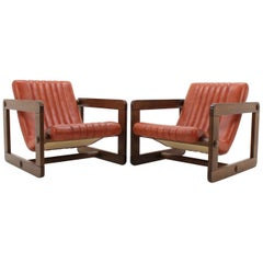 Set of Two Design Lounge Chair, 1970