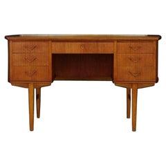 Danish Design Writing Desk Teak Retro Vintage