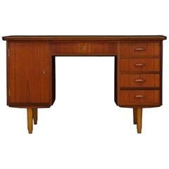 Writing Desk Danish Design Teak Midcentury