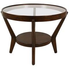 Round Coffee Table by K. Koželka and A. Kropáček, 1940s