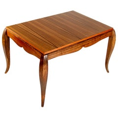 Table with Playfully Curved Legs, 1940s