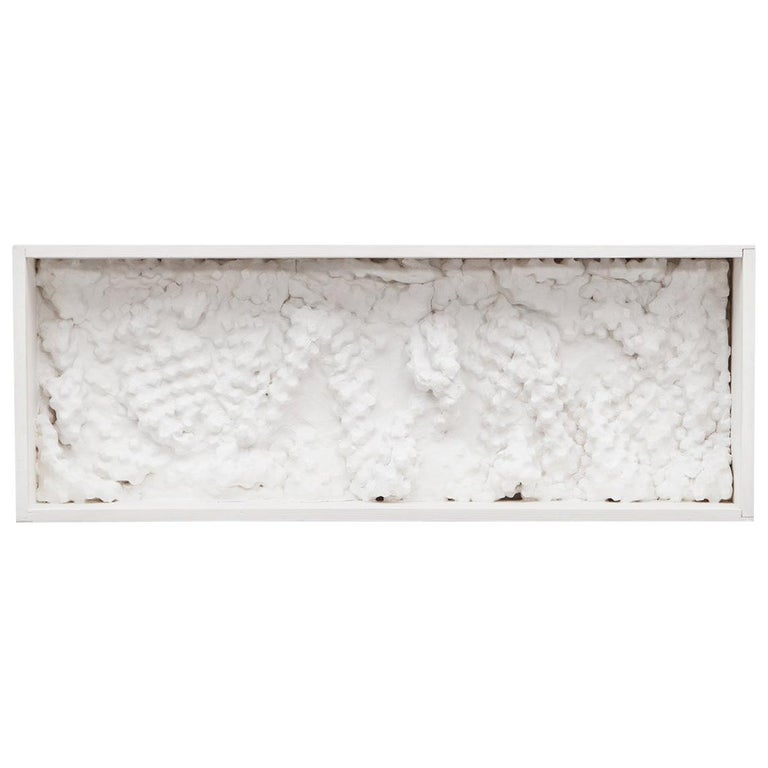 1960s White Wall Object by Ferdinand Spindel 'a'