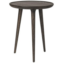 Accent Round Table M Fsc Certified Oak Sirka Grey Stain by Mater Design