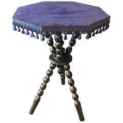 Antique Bobbin Legged Gyspy Table