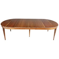 Kindel Cherry Dining Room Table, 1950s
