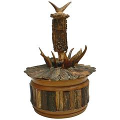 Black Forest Antler Humidor