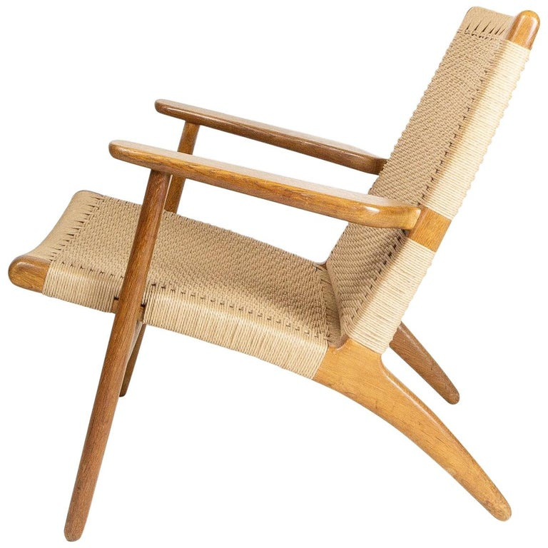 CH25 Lounge Chair by Hans J. Wegner For Sale