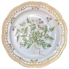 Flora Danica Platter