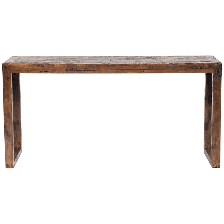 17th Century Chinese Square Corner Altar Table
