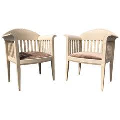Pair of Eliel Saarinen Chairs