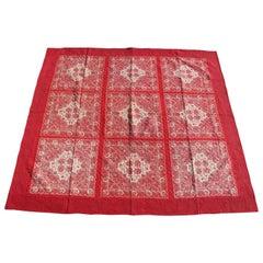 Antique Quilt, 19th Century Bandana Quilt