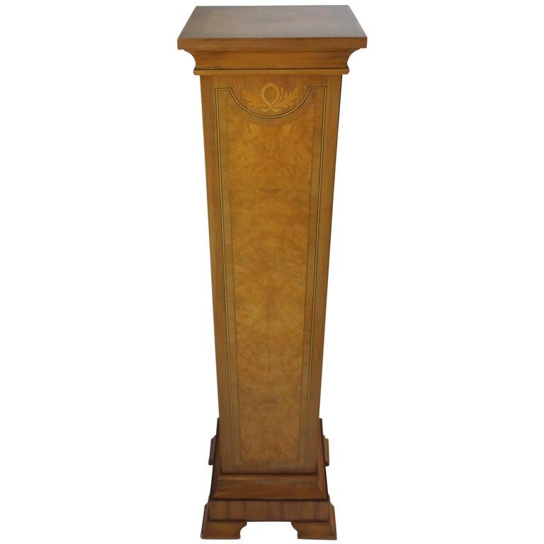 Pedestal Column for Sculpture or Plant