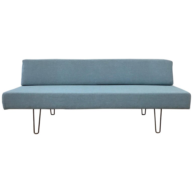 Vintage Mid-Century Modern Hairpin Leg Daybed
