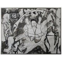 Ben Katz Abstract Painting