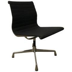 1958, Eames, EA 107 for Herman Miller, Static Non Swivel Alu Chair