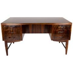 Brazilian Rosewood Desk, Denmark, 1960s