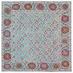 Vintage Uzbekistan Suzani Textile