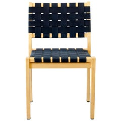 Set of 4 Chair, Model 611, Alvar Aalto for Artek