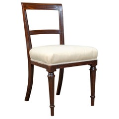 Set of Six Antique Dining Chairs, English, Victorian, Mahogany, Shoolbred