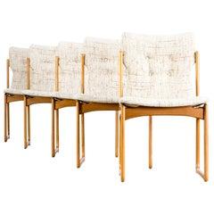 1960s Dining Room Chair for Vamdrup Stolefabrik Denmark Set of 5