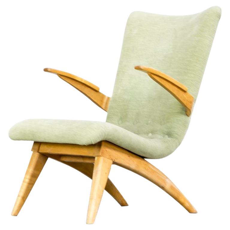 1950s G. Van Os Lounge Chair for Van Os Culemborg