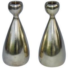 Ben Siebel Brass Candleholders