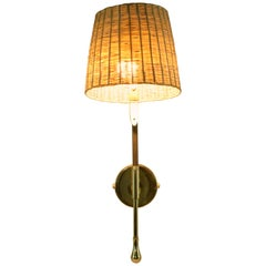 Ancora-II MII Contemporary Rattan Wall Light, Flow Collection