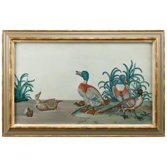 18th Century Duck Painting