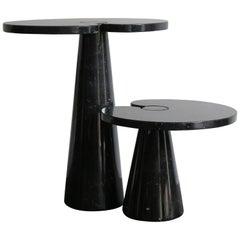 1970s Angelo Mangiarotti Italian Marble Tables Serie Eros for Skipper