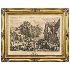 Flemish Holiday, 18th Century Print